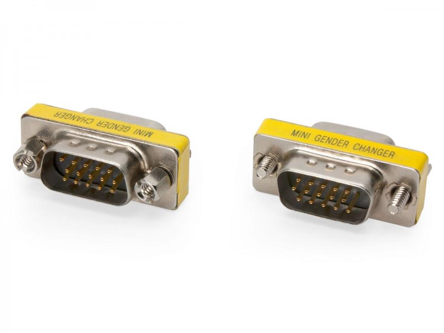 15 Pin VGA Coupler (Male to Male) (Photo )