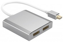 15cm Mini-DisplayPort Splitter Cable - MST Hub (Extend & Mirror) (Thumbnail )