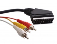 1.5m 21Pin SCART to 3x RCA Cable (Photo )