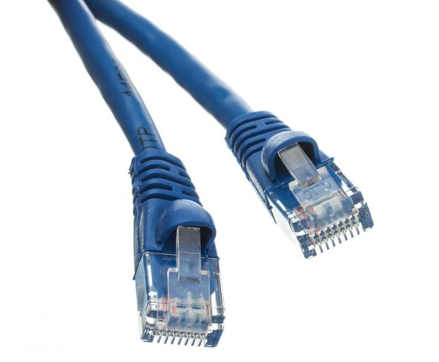 1m CAT6 RJ45 Ethernet Cable (Blue)