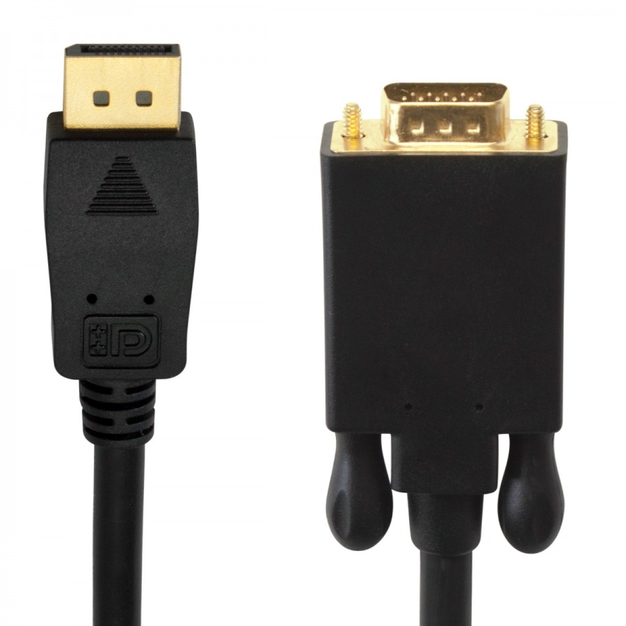 1m DisplayPort (Male) to VGA (Male) Cable