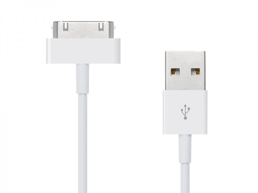 1m iPod, iPhone & iPad USB Data Cable (Photo )