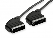 1.8m SCART to SCART Cable (Male to Male)