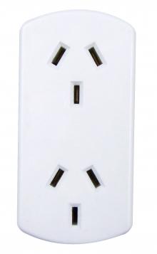 Australian Power Socket Vertical Double Adaptor (Photo )