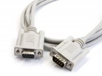 2m DB9 Serial Extension Cable (DB9 Male to Female)