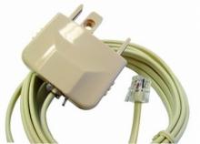 2m Telephone Cord: RJ12 plug to Australian Plug