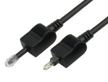 2m TOSLINK to Mini-TOSLINK (3.5mm Optical) Cable