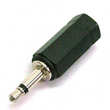 3.5mm Stereo Socket to 3.5mm Mono Mini Jack Adaptor