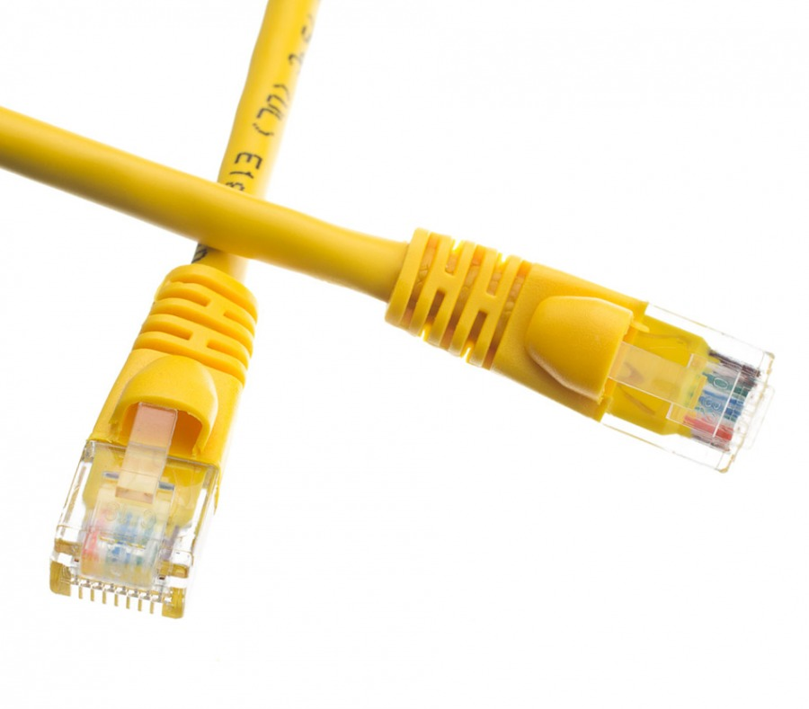 3m Cat6 Rj45 Ethernet Cable Yellow