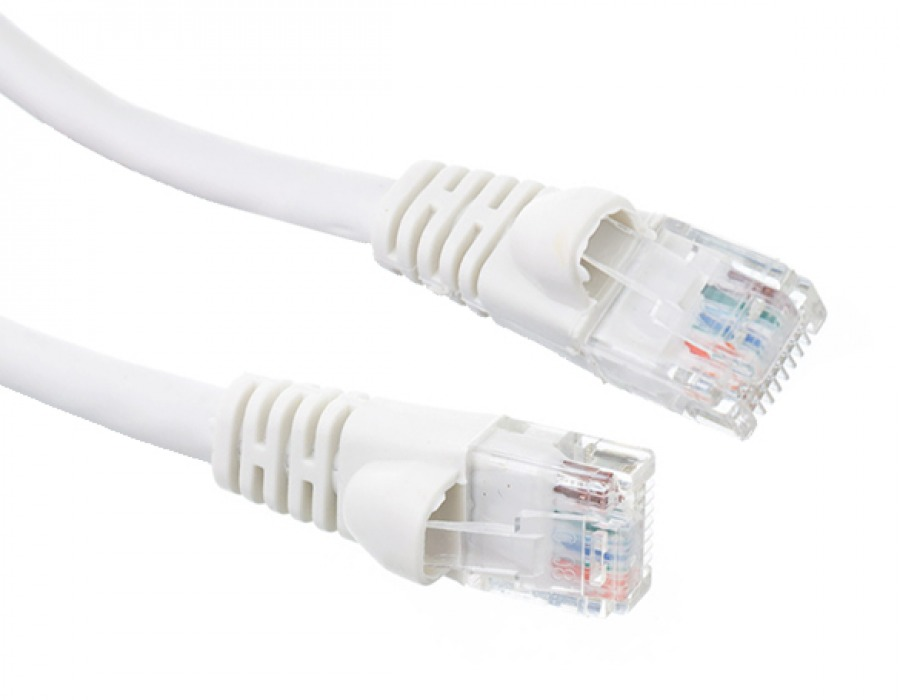 3m CAT6 RJ45 Ethernet Cable (White)