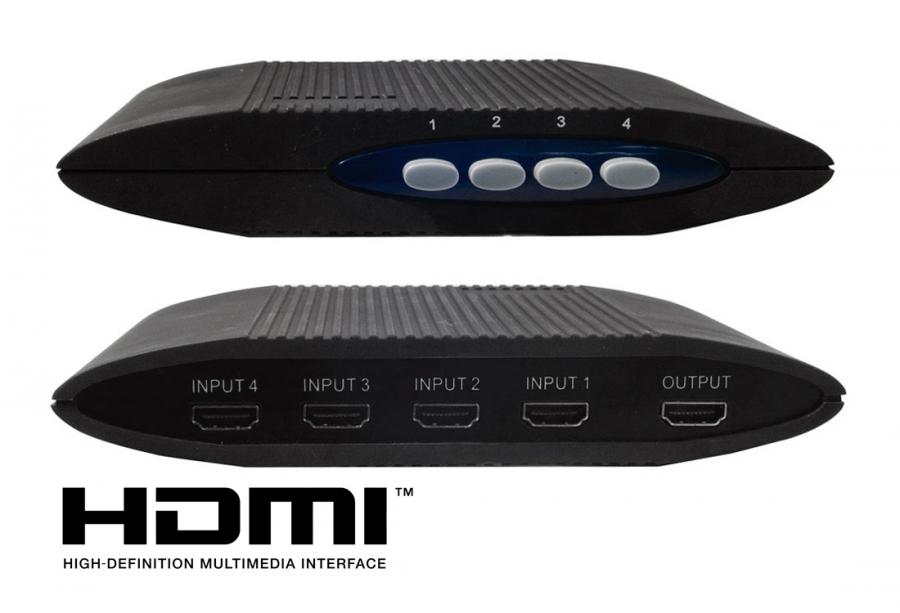 4-Port HDMI Switcher