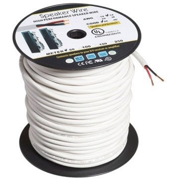 50m Roll of In-Wall 14AWG 99.98% OFC Speaker Cable (2-Core) (Photo )