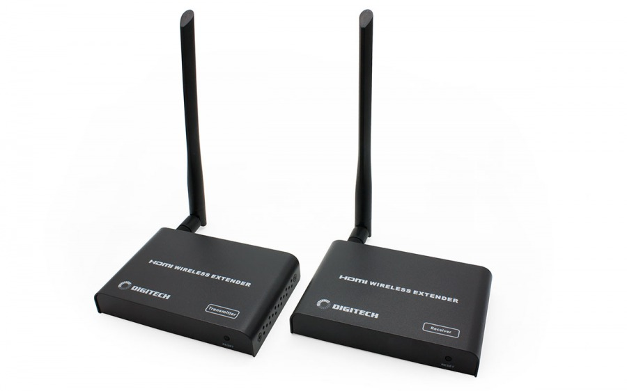 5GHz Wireless HDMI Sender & Receiver with IR (1080p @ 60Hz up to 30m)
