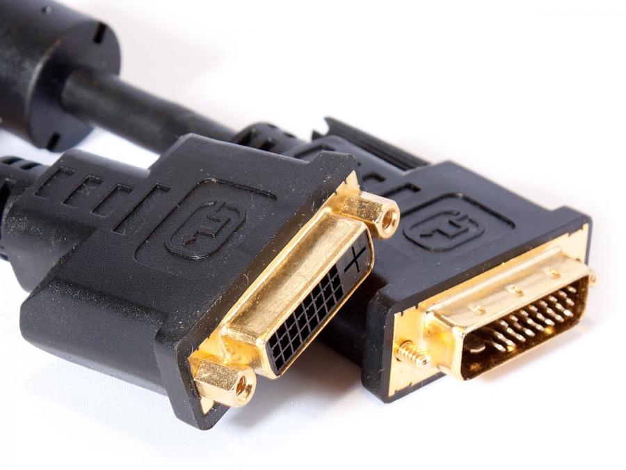 5M DVI-D Male to DVI-D Female Extension Cable