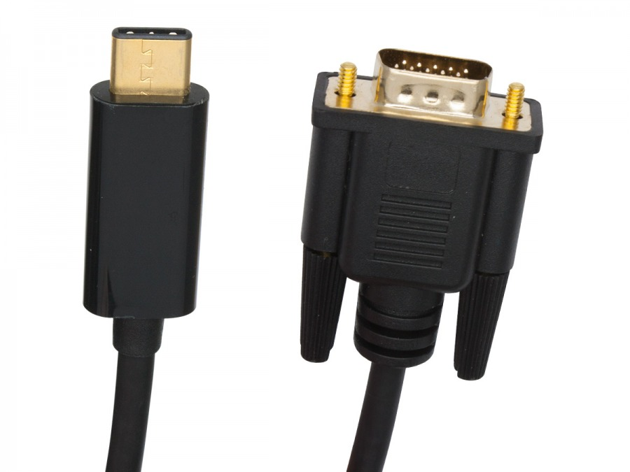 5m USB 3.1 Type-C to VGA Cable