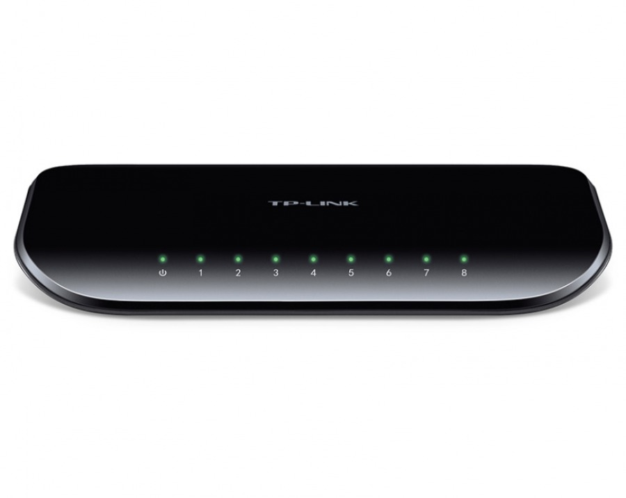 8-Port Gigabit Ethernet Switch (PC Network Switch)