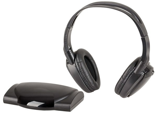 Wireless Infrared Headphones with TOSLINK Digital Optical Input
