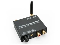 Advanced Digital to Analogue Audio Converter & Bluetooth 5.0 Receiver with Volume Control