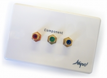 Amped Classic Component (White Wall Plate) (Photo )