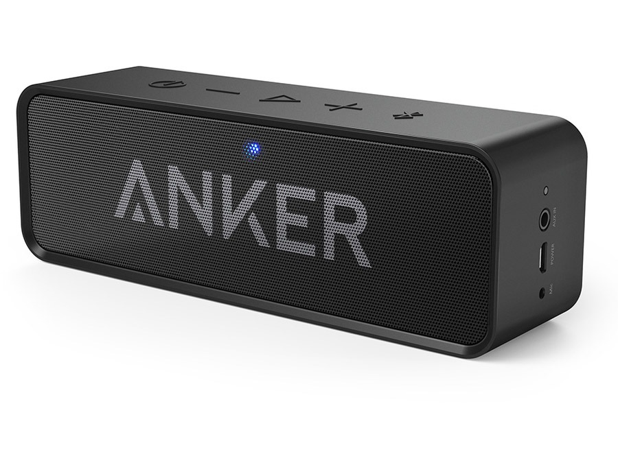 Anker Portable Bluetooth 4.0 Speaker with Dual High-Power 3W Drivers + Bass Port