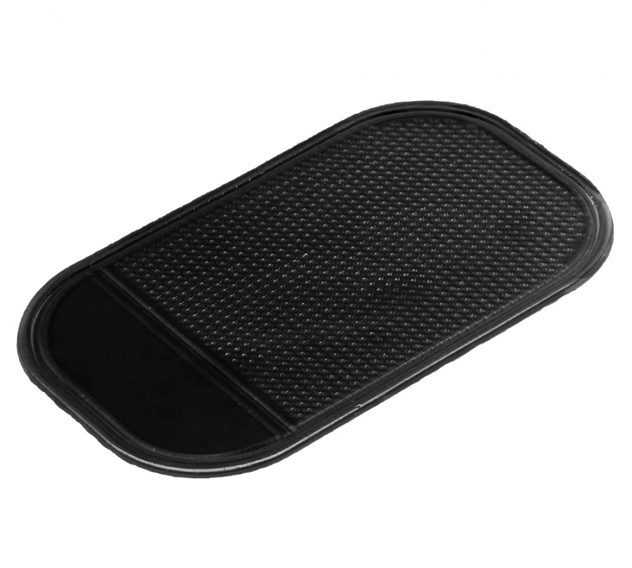 Anti-Slip Dashboard Mat Phone Holder (Black)