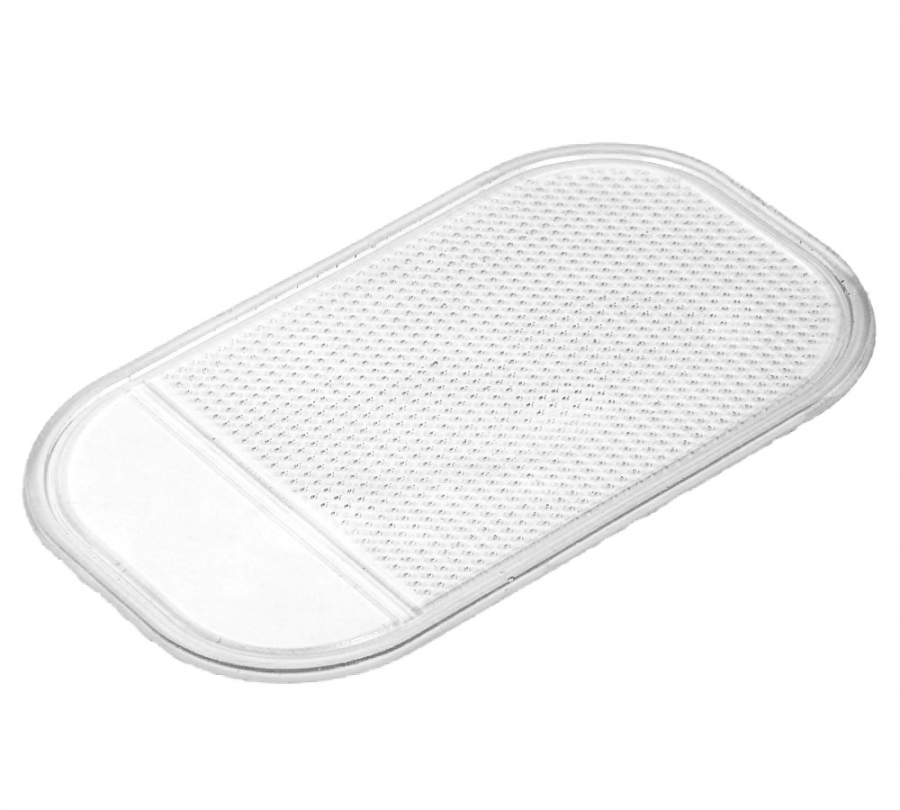 Anti-Slip Dashboard Mat Phone Holder (Clear)