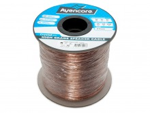 Avencore 100m Roll High-Grade 99.9% Oxygen Free 16 AWG 2-Core Speaker Cable