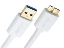 Avencore 1.5m Micro USB 3.0 Super-Speed Cable (A to Micro-B 10-Pin) (Thumbnail )