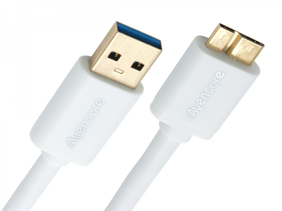 Avencore 1.5m Micro USB 3.0 Super-Speed Cable (A to Micro-B 10-Pin) (Photo )