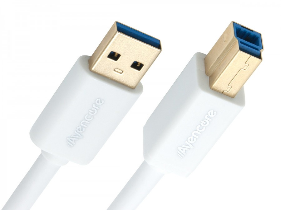 Avencore 1.5m SuperSpeed USB 3.0 Cable (Type A-Male to B-Male) (Photo )