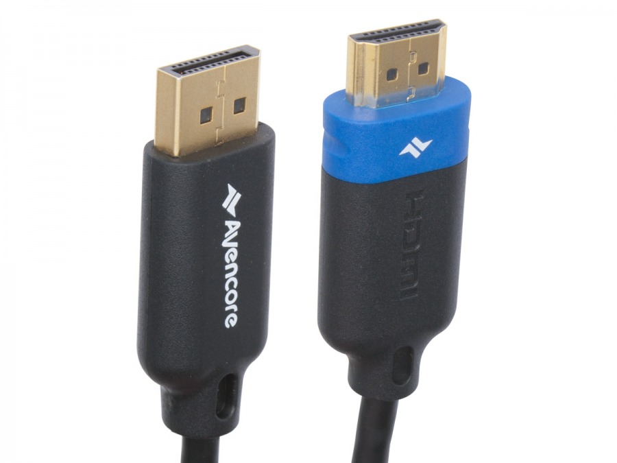 Avencore 1m DisplayPort to HDMI Cable (Ultra HD 4K Compatible) (Photo )