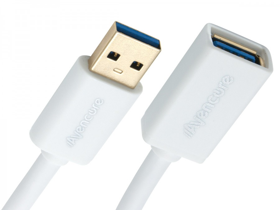 Avencore 1m SuperSpeed USB 3.0 Extension Cable (Type-A, Male to Female) (Photo )
