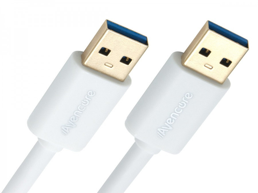 Avencore 1m SuperSpeed USB 3.0 Cable (Type-A, Male to Male)
