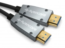 Avencore Carbon Series 100m HDMI Active Optical Cable (Supports Ultra HD 4K@60Hz)