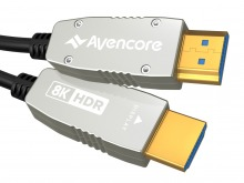 Avencore Carbon Series 50m HDMI Active Optical Cable (Supports Ultra HD 4K@60Hz)