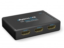 Avencore Compact Powered 4-Way HDMI Splitter (HDMI v1.3b with 3D Support & CEC) (Thumbnail )