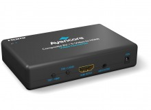 Avencore Composite Video & S-Video + Audio to HDMI Converter