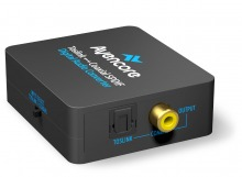 Avencore Digital Audio Converter: Bi-Direction TOSLINK to Digital Coaxial
