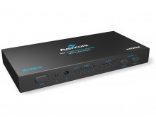 Avencore Halon Series HDMI 4x2 True Matrix Switch & Audio Splitter (Supports Ultra HD 4K@30Hz)