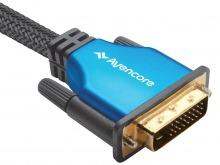 Avencore Platinum 1m DVI-D Dual-Link Cable (24+1 Pin) (Thumbnail )