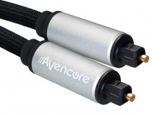 Avencore Platinum 2m TOSLINK Digital Optical Audio Cable