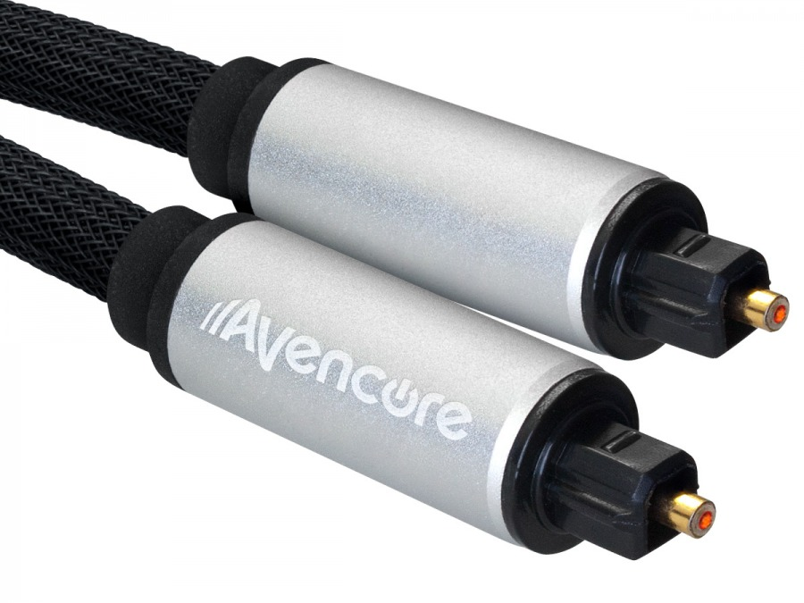 Avencore Platinum 2m TOSLINK Digital Optical Audio Cable (Photo )