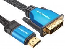 Avencore Platinum 7.5m HDMI to DVI-D Cable (Thumbnail )