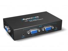 Avencore Powered 2-Way VGA Splitter with Audio (500MHz) (Thumbnail )