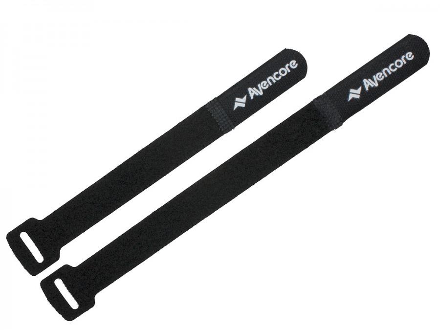 Avencore Self-Fastening Hook\'n Loop Cable Ties (6-Pack, 2 Sizes) (Photo )