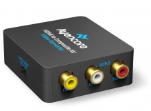 Avencore USB Powered HDMI to AV Converter (CVBS Composite Video + Audio)