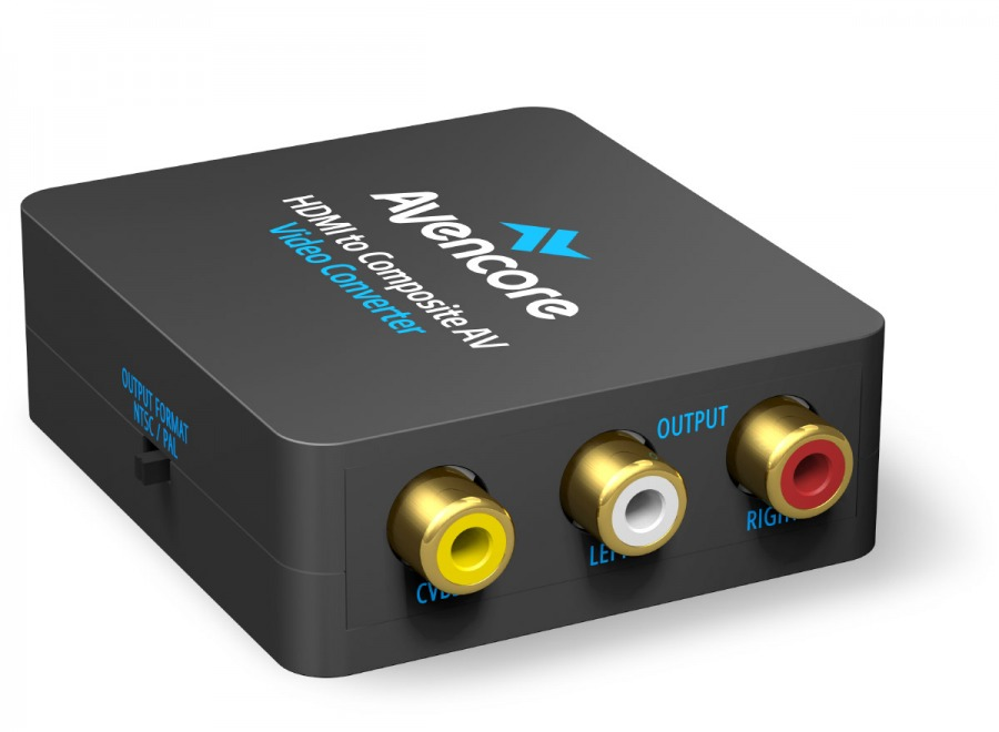 Avencore USB Powered HDMI to AV Converter (CVBS Composite Video + Audio) (Photo )