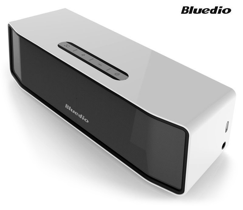 Bluedio BS-2 Dual-Driver Bluetooth Speaker with Li-Polymer Battery