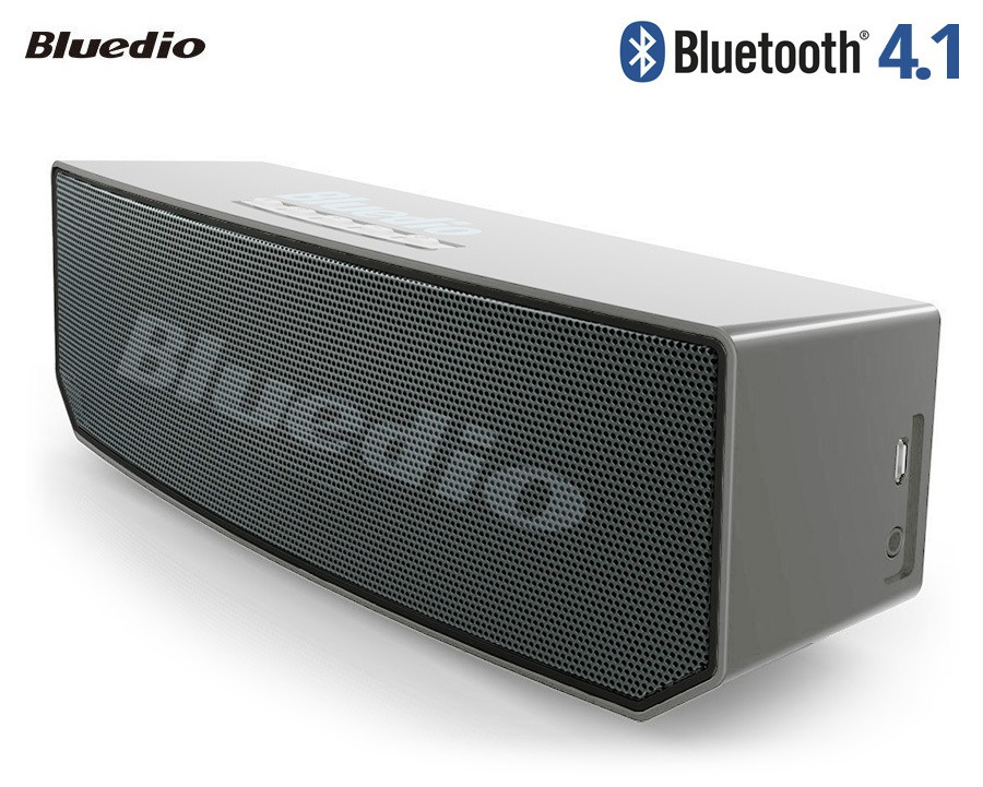 Bluedio BS-5 Dual-Driver Bluetooth Speaker with Li-Polymer Battery
