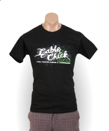 Cable Chick Urban T-Shirt - Size L (Mens) (Photo )